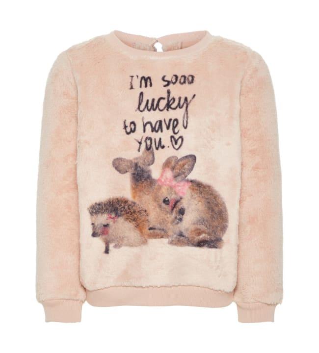 Name It Mini Saditte tyttöjen paita