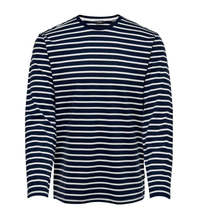 Only & Sons Evan miesten pitkähihainen t-paita