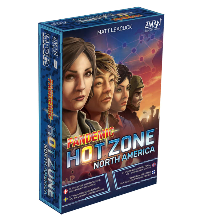 Pandemic Hot Zone North America (Nordic) lautapeli
