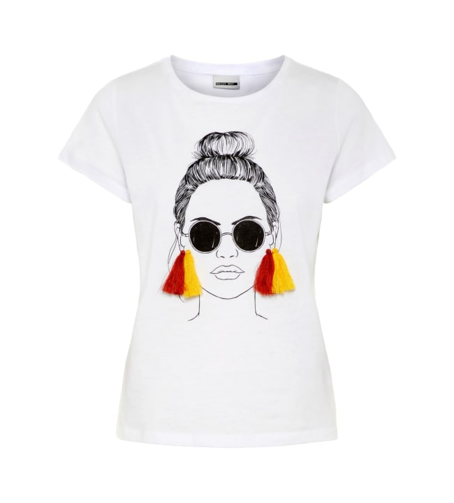 Noisy May Flora naisten t-paita