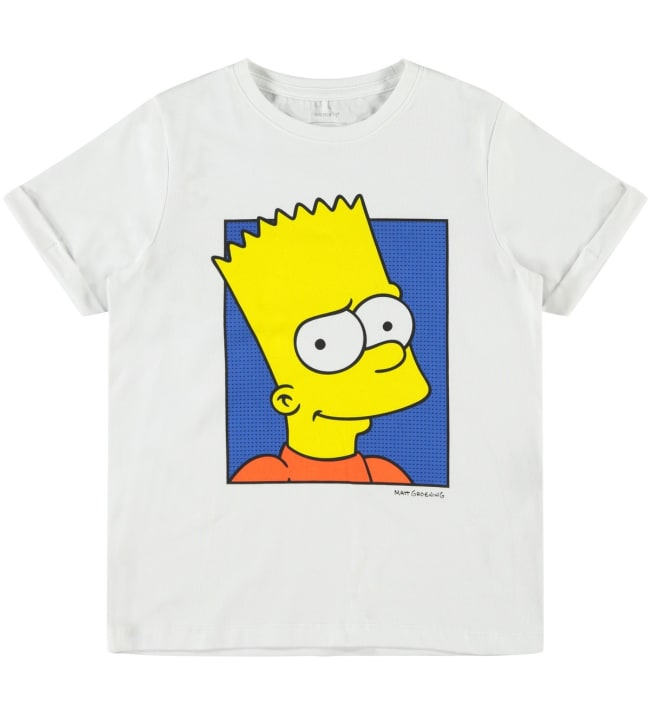 Name It Kids Simpsons lasten t-paita