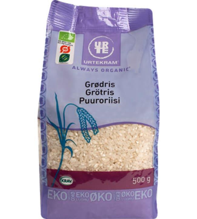 Urtekram Always Organic 500 g luomu puuroriisi