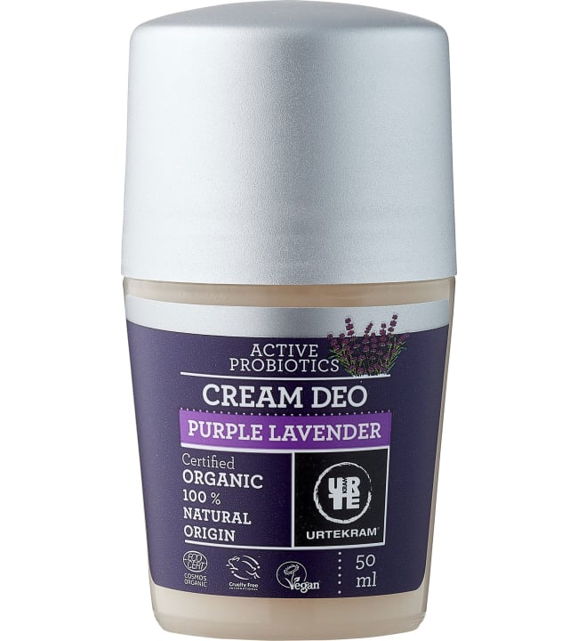 Urtekram Laventeli 50 ml luomu deodorantti