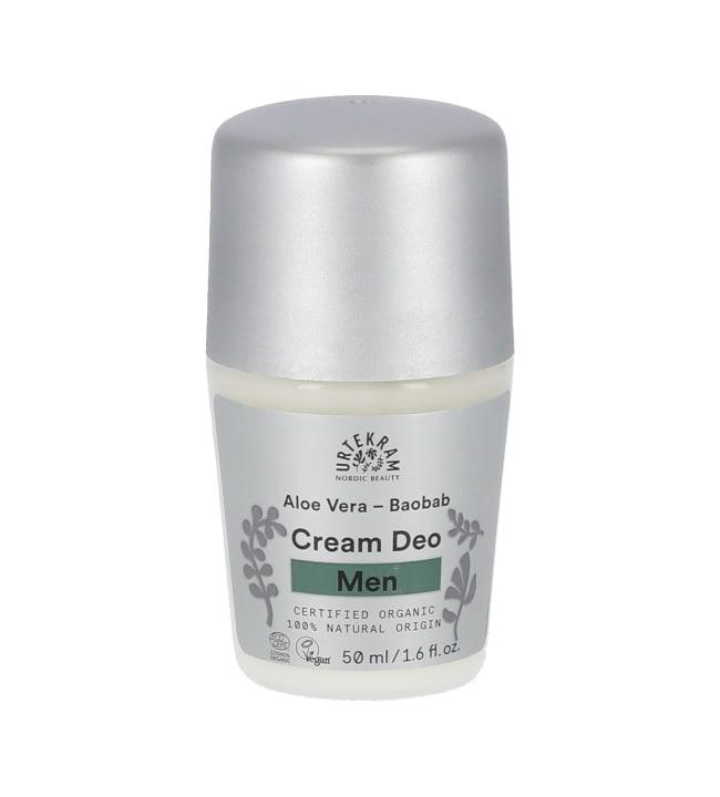 Urtekram Baobab Aloe Vera 50 ml luomu miesten deodorantti