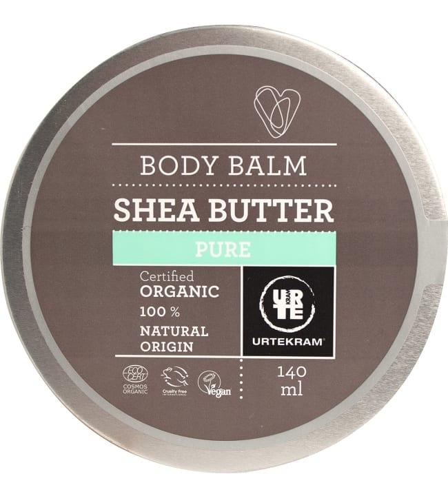 Urtekram Body Balm Pure 140 ml luomu sheavoi