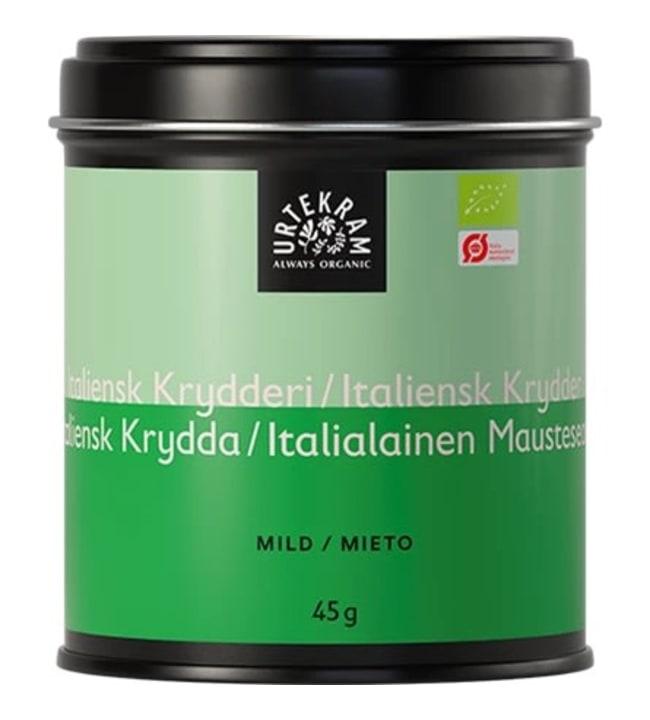 Urtekram 45 g luomu italialainen maustesekoitus