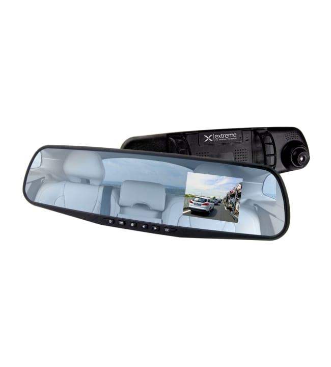 Extreme XDR103 Autokamera peiliin