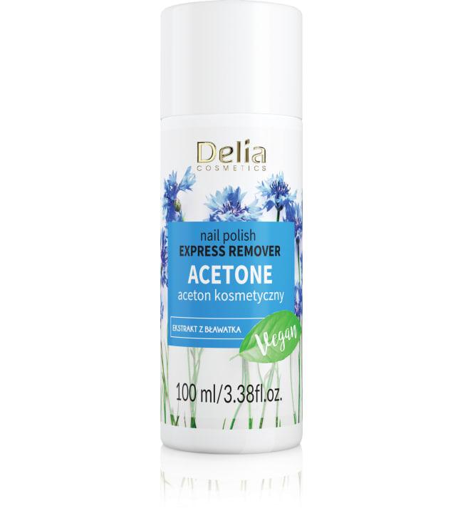 Delia Express 100% Acetone 100 ml kynsilakanpoistoaine