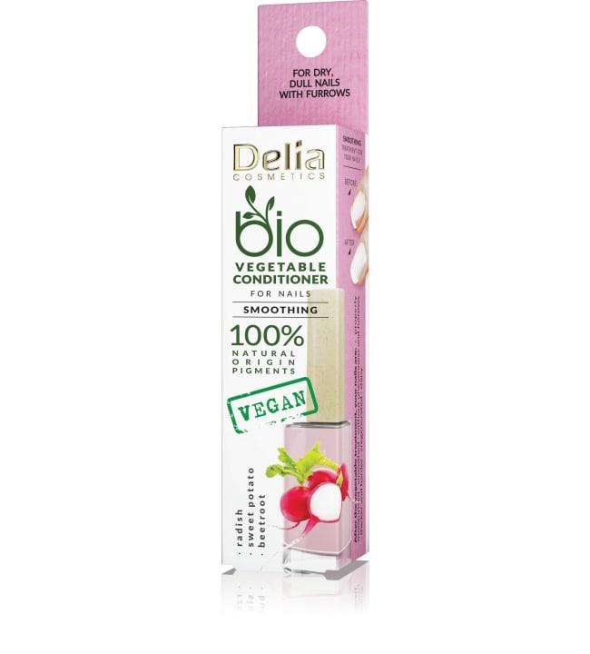 Delia Bio Vegetable Smoothing 11 ml silottava hoitolakka