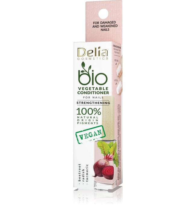 Delia Bio Vegetable Strengthening 11 ml vahvistava hoitolakka