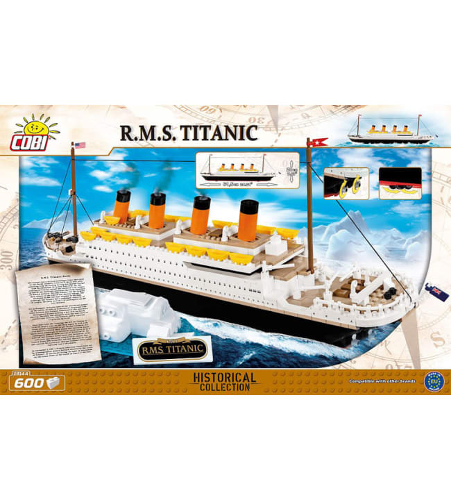 Cobi R.M.S. Titanic 600-osainen rakennussarja