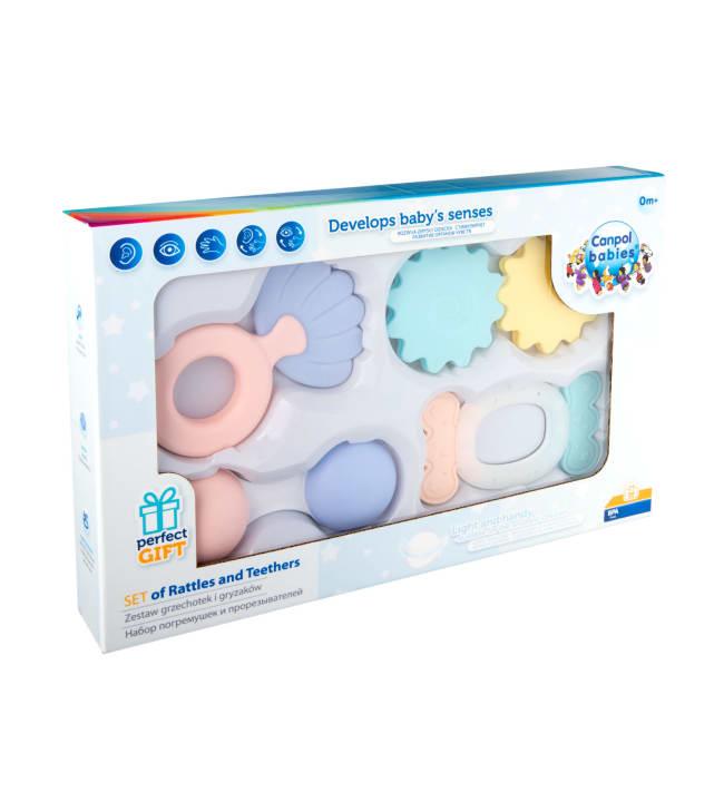 Canpol Babies pastelli 4 kpl ensihelistinsetti