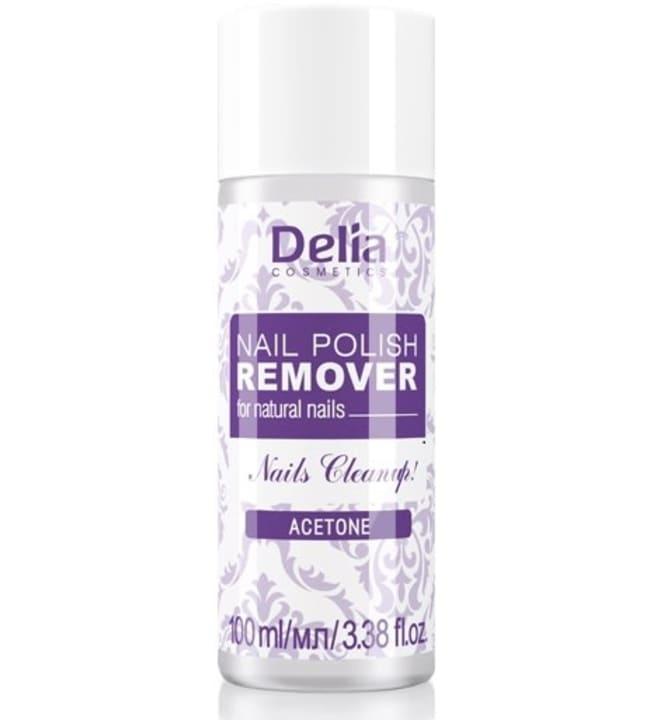 Delia luonnon kynsien 100 ml kynsilakanpoistoaine