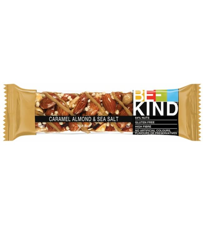BE-KIND Caramel Almond & Seasalt 40 g patukka