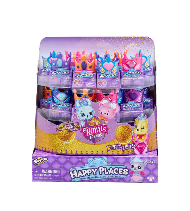 Shopkins Happy Places S8 hahmo ja kruunu