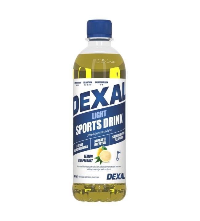 Dexal Light Sitruuna-Greippi 0,4 l urheilujuomatiiviste