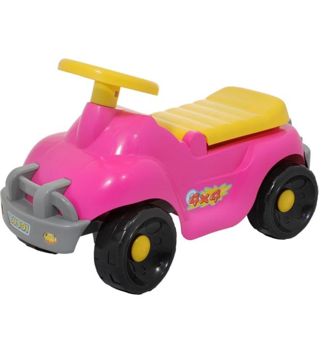 Plasto pinkki off road potkuauto