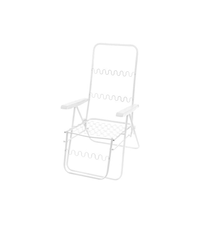 Baden-Baden valkoinen tuolin runko