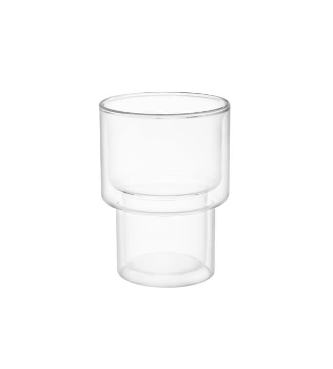 Maku pinoutuva 250ml kaksikerroksinen lasi