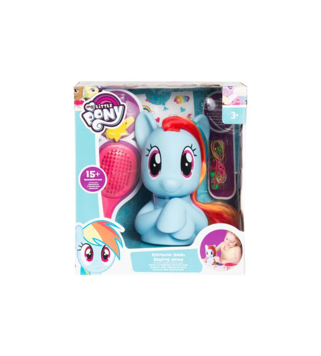 My Little Pony Rainbow Dash kampauspää ja tarvikkeet