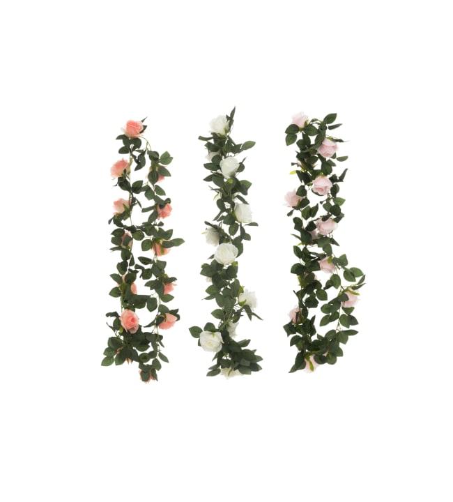 4Living ruusuköynnös 180cm silkkikukka
