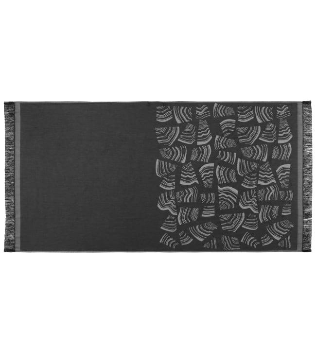 Rento Pino musta 78x150 cm kylpypyyhe