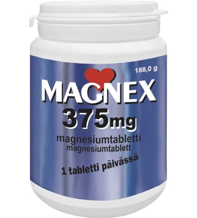 Magnex 375 mg 180 tabl. magnesiumvalmiste