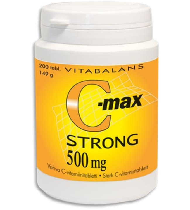C-Max strong 500 mg 200 tabl. C-vitamiinivalmiste