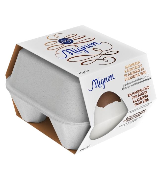 Fazer Mignon 4-pack suklaamuna