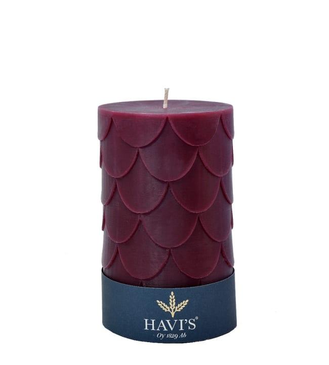 Havi's Petals 8x13 cm pöytäkynttilä