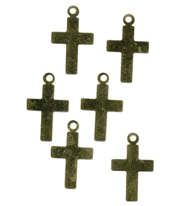 Farnia 6 kpl messinkiristi