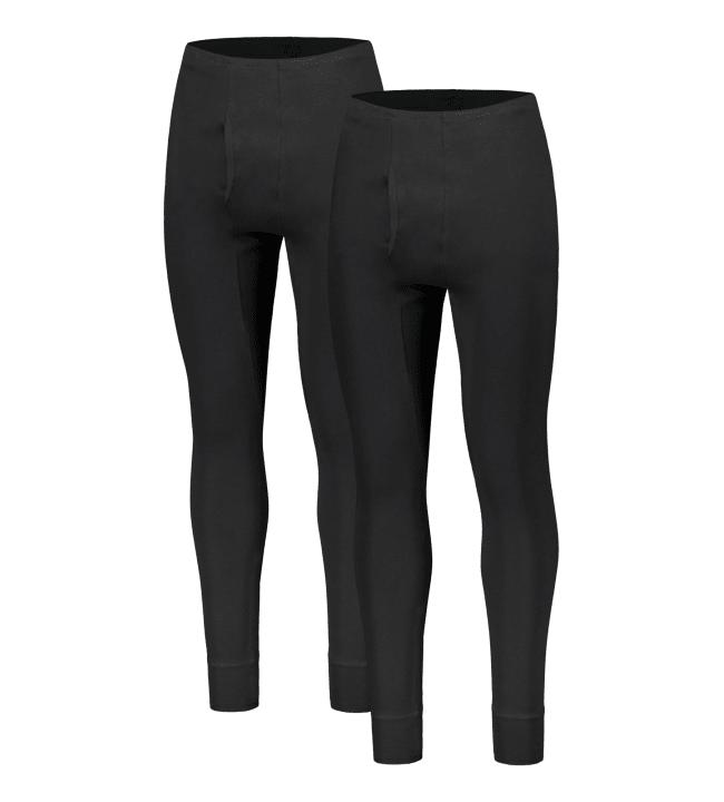 Black Horse Interlock 2-pack miesten pitkät alushousut