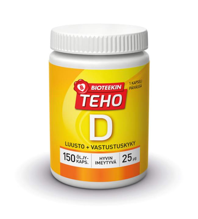 Bioteekin Teho D plus 150 tabl. ravintolisä