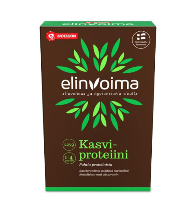 Bioteekin Elinvoima Kasviproteiini 225 g ravintolisä