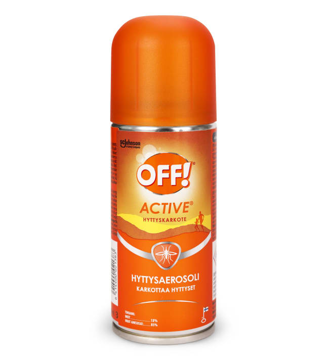 Off! Active 100 ml hyttysaerosoli