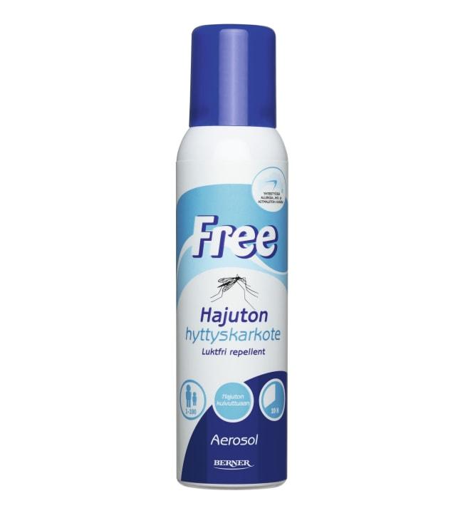 Free 150ml aerosoli hyttyskarkote