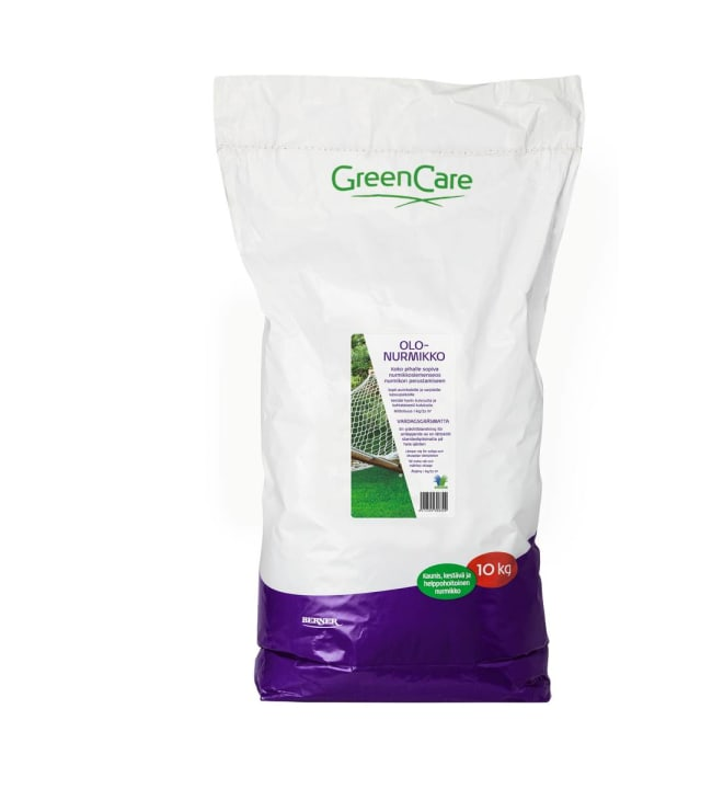 GreenCare olonurmikko 10kg siemenet