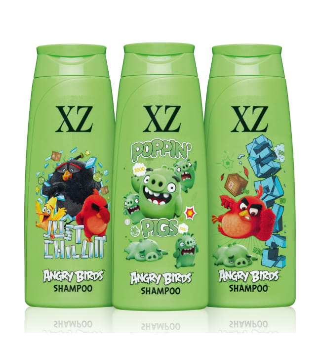 XZ Angry Birds 250 ml shampoo