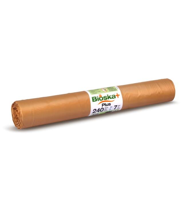 Bioska+ 240 l ruskea 7 kpl bio-säkki