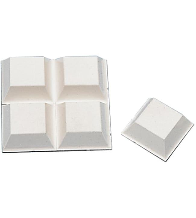 Pisla 897/13 mm valkoinen 8 kpl ovenpysäytin