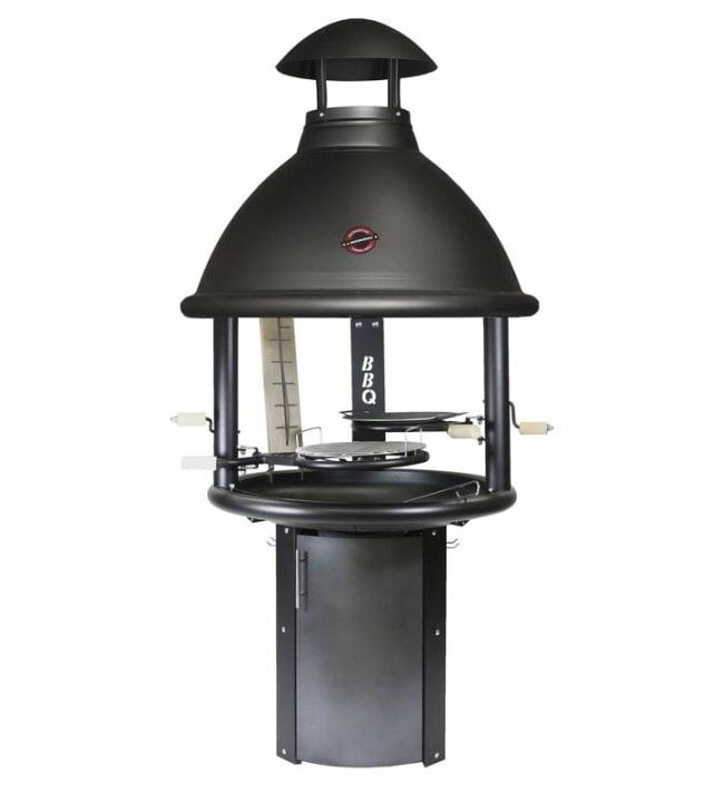 Kotakeittiö BBQ musta korkea malli