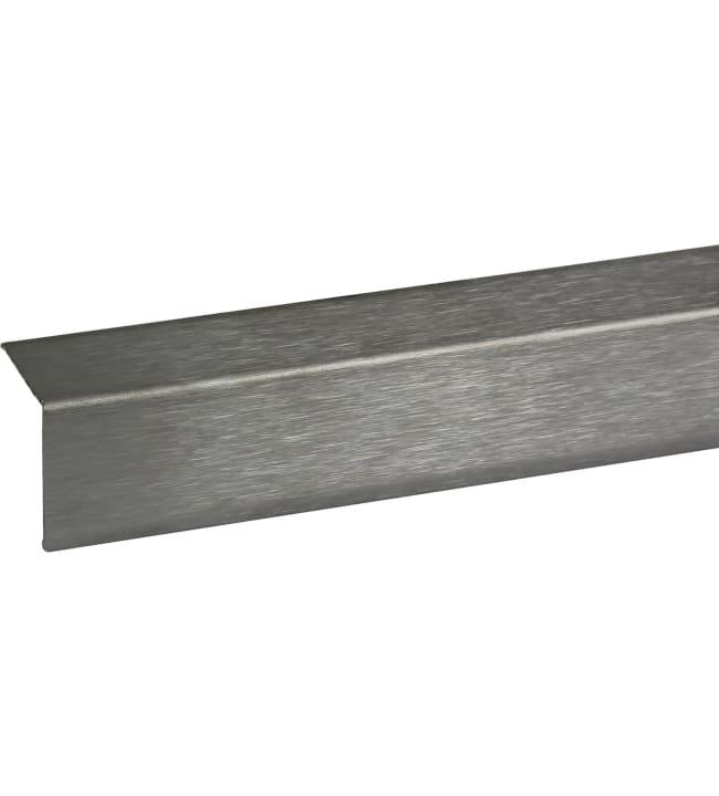 Pisla 30x30x mm ruostumaton teräs kulmalista