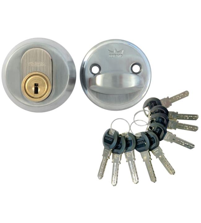 Pisla Matrix sarjoitettu 5 kpl satiini avainpesä