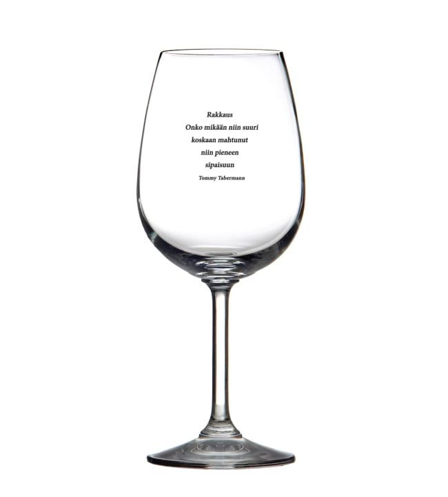 Muurla Tabermann Rakkaus… 45cl viinilasi