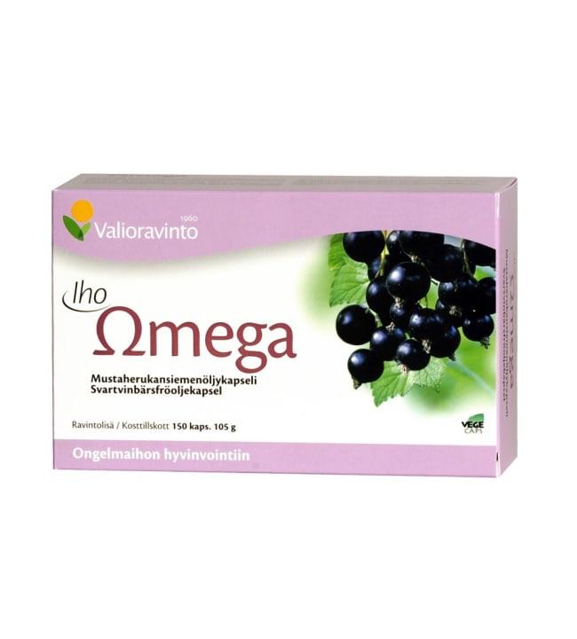 Valioravinto Iho Omega 60 kaps. ravintolisä