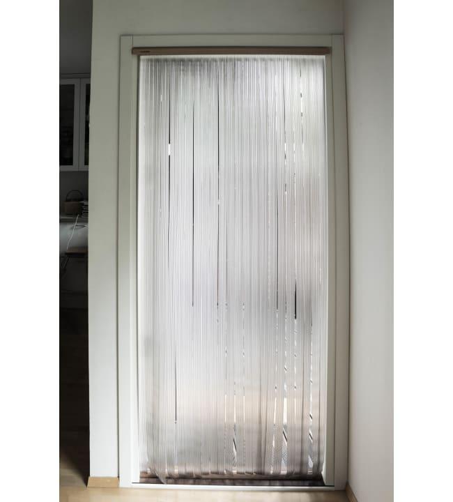 Ötökkä Lux 92 x 210 cm kirkas oviverho