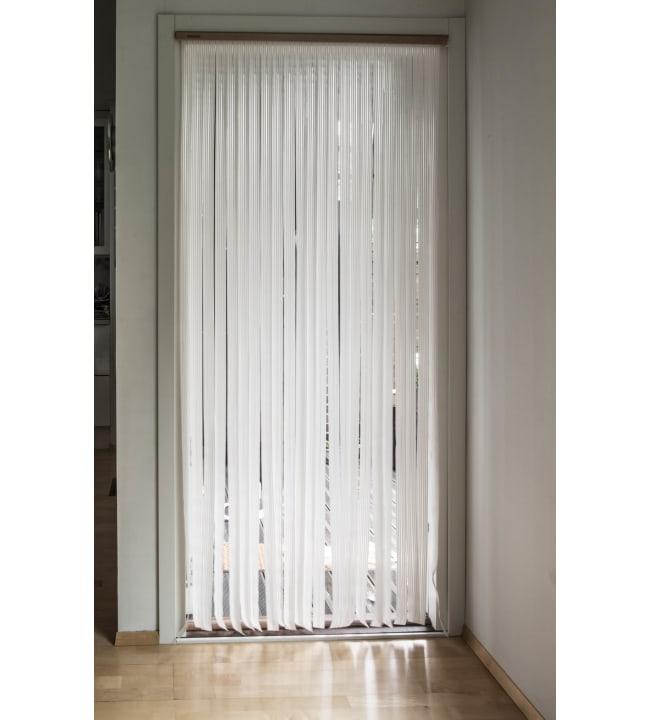 Ötökkä 92 x 210 cm valkoinen oviverho