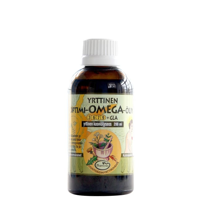 Frantsila 200 ml optimi-omegaöljy