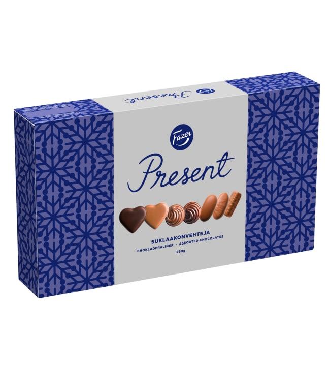 Fazer Present 260 g suklaakonvehti