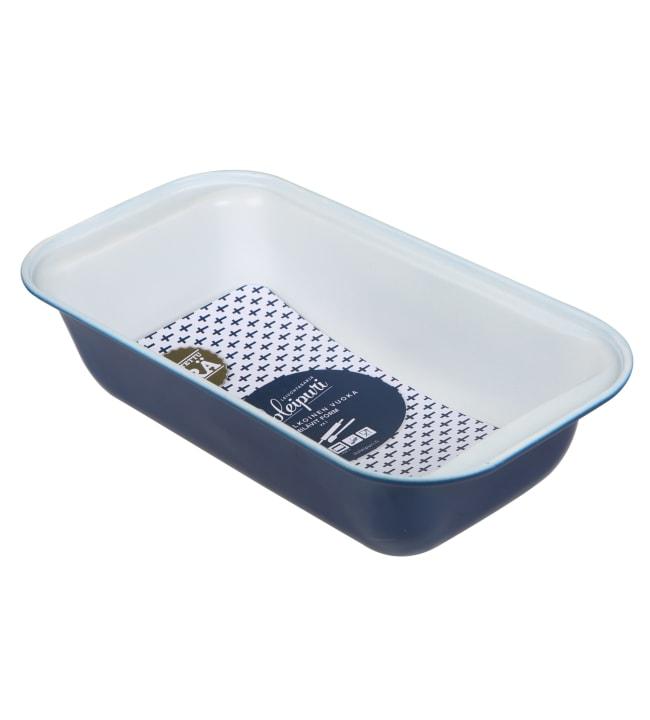 Iloleipuri Sinivalkoinen leipävuoka 26 cm
